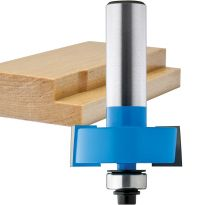 "Rockler Rabbeting Router Bit - 1-3/8"" Dia x 1/2"" H x 1/2"" Shank"