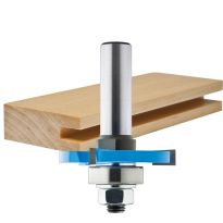 "Rockler 3 Wing Slotting Cutters Router Bits - 1/4"" Shank"