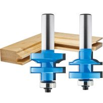 "Rockler Bead Stile and Rail Router Bit - 1-3/8"" Dia x 1"" H x 1/2"" Shank"