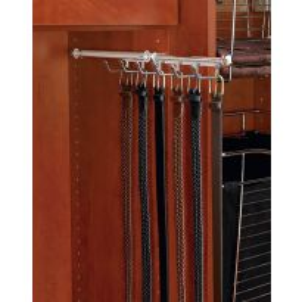 Designer 13 3/4'' Belt/Scarf Organizer, Oil Rubbed Bronze, Metal