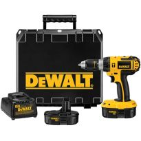 Dewalt DC725KA Heavy-Duty Compact 1/2' 13mm 18V Cordless Hammerdrill Kit