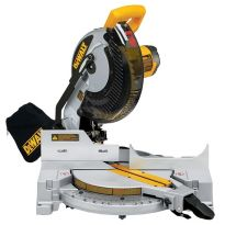 DeWalt DW713 Heavy-Duty 10'' (254mm) Single-Bevel Miter Saw