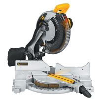 DeWalt DW715 Heavy-Duty 12'' (305mm) Single-Bevel Compound Miter Saw