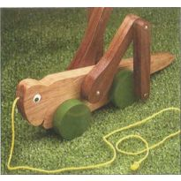 Grasshopper Pull Toy Downloadable Plan