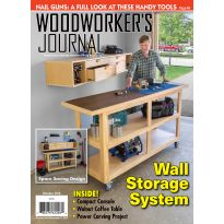 Cover of Woodworker's Journal – September/October 2019
