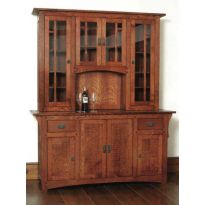 Arts & Crafts Wine Cabinet Downloadable Plan