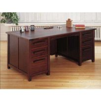 Greene & Greene Inspired Desk Downloadable Plan