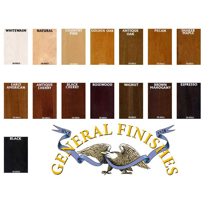 Ef Wood Stain General Finishes Brown Mahogany