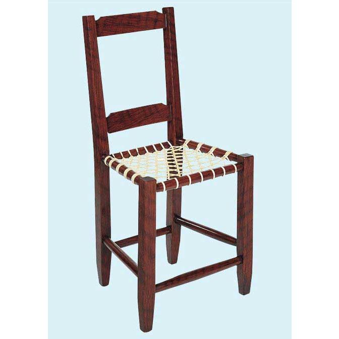 Canadian Ladderback Chair Downloadable Plan. Tap To Expand
