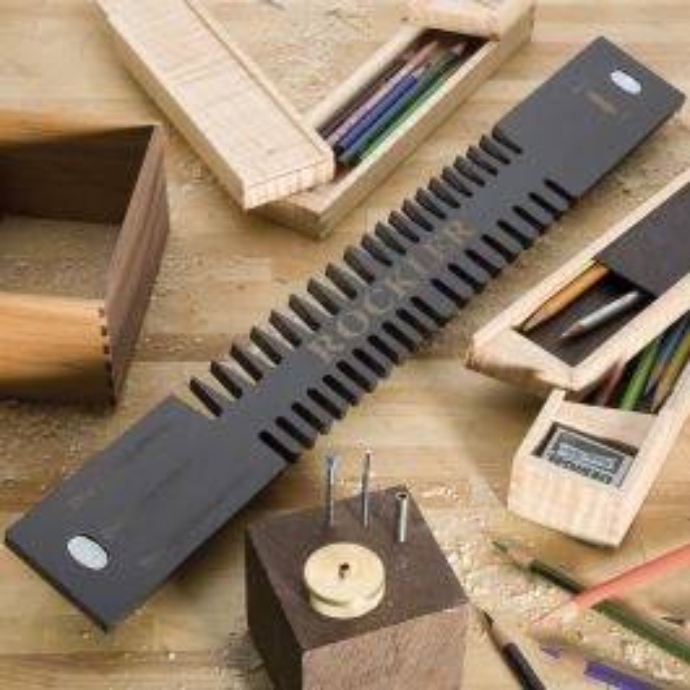 Rockler Miniature Dovetail Template Amp Bit Kit