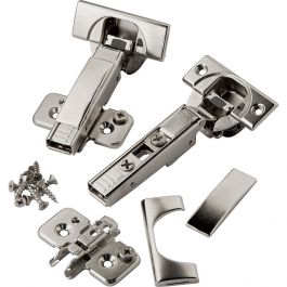 110 Degree SELF Close Cabinet Door Hinge Concealed Euro Full Overlay H-Quality