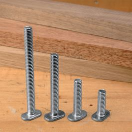 "Lot of 10 Each Sliding Tee Bolts w// 1//4 20 Threads 1-3//4/"" for Jigs and T Track"