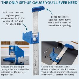 6 Hook Rule with Drill Point Gauge APR SUPPLIES