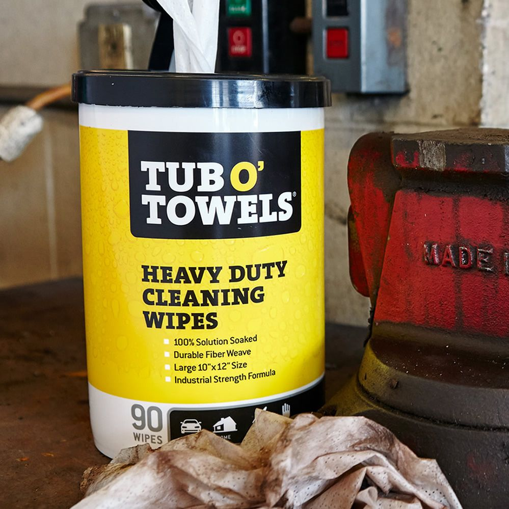 Tub O Towels Heavy Duty Multi Surface Cleaning Wipes 10