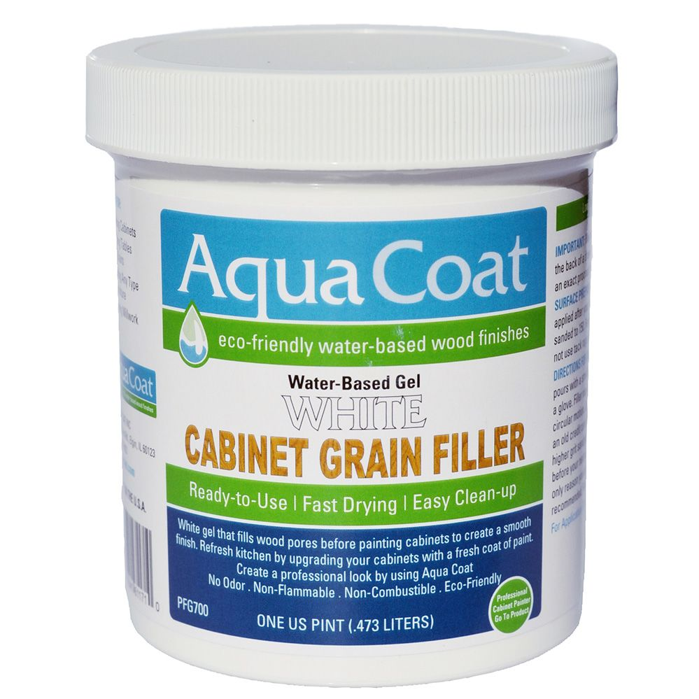Aqua Coat White Grain Filler Pint Rockler Woodworking