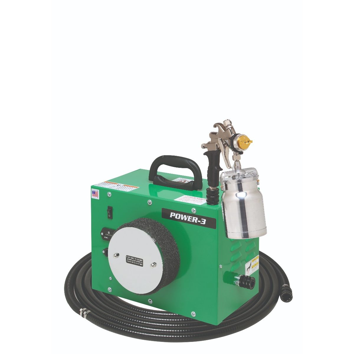 Apollo Power 3 Hvlp Spray System With Bottom Feed Gun