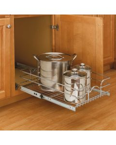 Cabinet Pullout Single Tier Wire Baskets