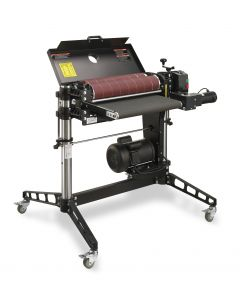 SuperMax 25x2 Double Drum Sander – Single Phase