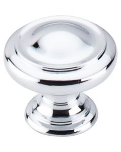 "Dome Knob 1 1/8"" - Polished Chrome"
