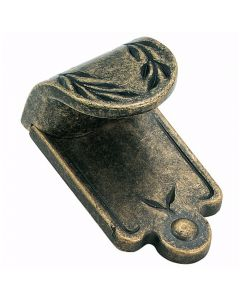 Weathered Brass Inspirations Finger Pull