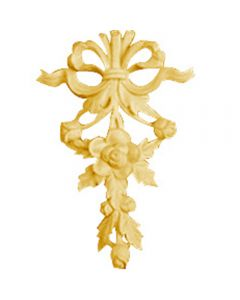 Bendix Small Hand Carved Floral Drops