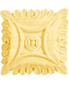 Maple Bendix Hand Carved Square Rosettes