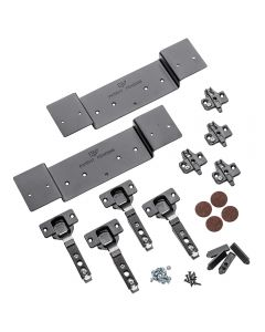Full Overlay Hinge Kit for KV8091 Pocket Flipper Door Slides