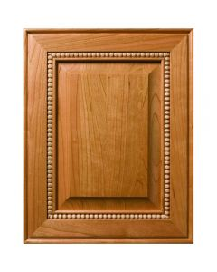 Pavillion Inlaid Bead Decorative Raised Panel Cabinet Door