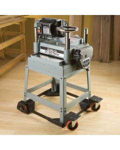 Add a mobile base to any of your shop equipment to enhance the versatility of your entire workshop!