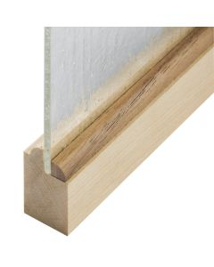Quarter Round Real Hardwood Panel Retainer Molding