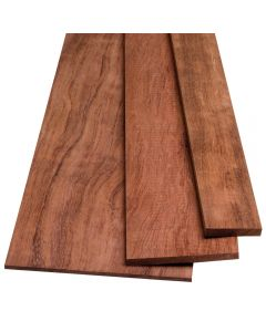 "Bubinga Lumber by the Piece-1/4"" Thickness"
