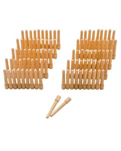 Birch Mini-X Dowels, 100