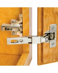 Rockler Hinge and Plate for 3/8'' Lipped Face Frame Doors