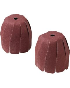 Inflatable Bowl Sander 80 Grit Sleeves - 2 per pack