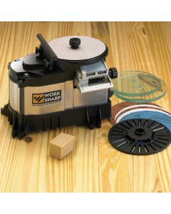 This Work Sharp 3000 system will have you putting razor-sharp edges on your valuable tools in no time.