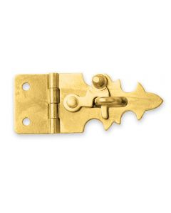 Brass Jewelry Box Staple Hasp Catch