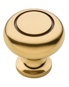 Antique Brass Power and Beauty Traditional Knob