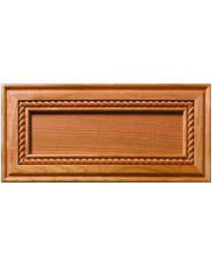 Minden Inlaid Rope Decorative Flat Panel Drawer Front
