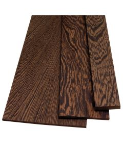 "Wenge lumber by the Piece-1/4"" Thickness"