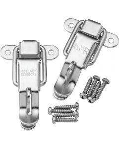 Catch with Padlock Hasp-Select finish