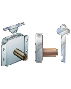 Surface Mounted Cedar Chest Lock and Latch