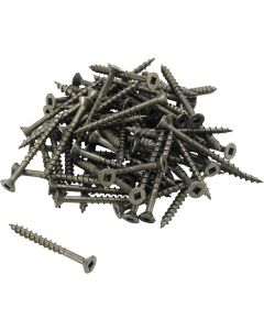 #8 Square Drive Lube Finished Screws-Number 8 Screws