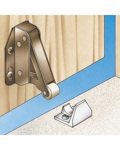 Quick-Latch Automatic Spring Catch