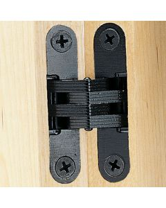 Black Finish Concealed Soss Hinges