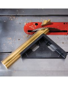 Compact footprint makes it easy to store � simply hang it from a nail by your saw!