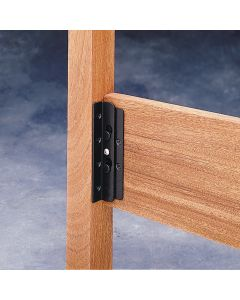 Easy surface-mount installation—no mortising required