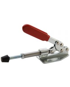 Once attached to a bench or fixture, this clamp becomes a convenient hold down with 450 pounds of clamping power.