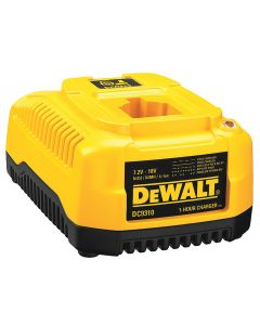 Charge any 7.2V-18V DeWalt battery in an hour or less