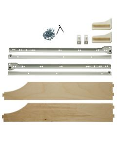 Components of a Drawer/Hardware Kit