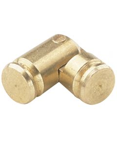 Solid Brass Small-Box Cylinder Hinges